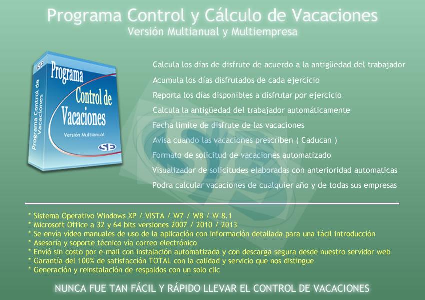 Soluciones en Excel - Caracteristicas Principales Programa ...