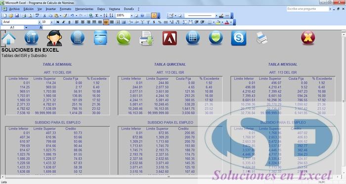 Soluciones en Excel